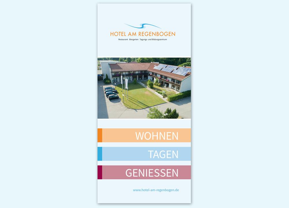 Imageprospekt Hotelprospekt Hotel am Regenbogen Cham