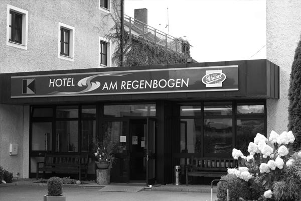 Hotel am Regenbogen, Cham, geschichtlich